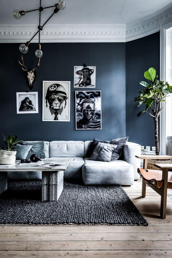 Beautiful Grijze Muur In Woonkamer Contemporary - Trend Ideas 2018 ...
