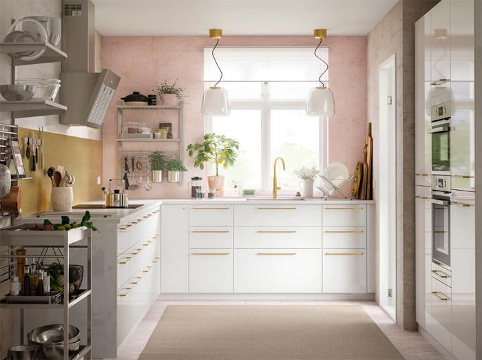 Mooie Scandinavische IKEA keuken