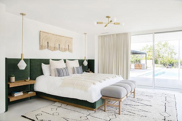 Mooie slaapkamer van Mandy Moore!
