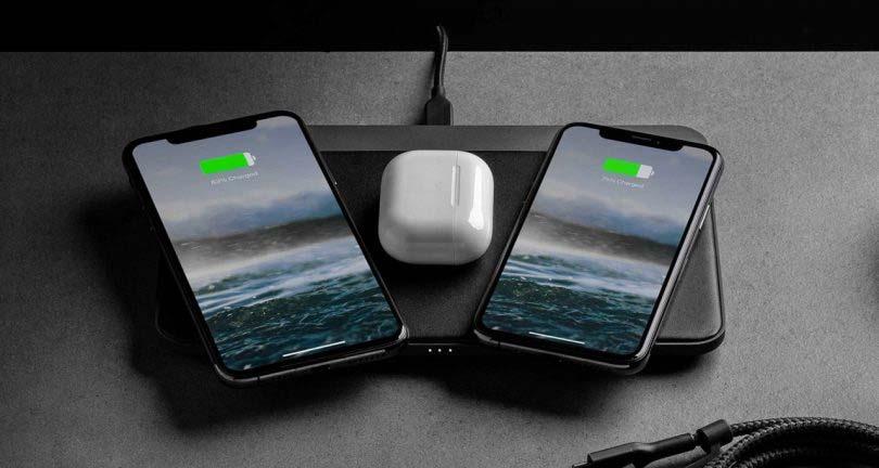 mooie telefoonlader nomad base station pro