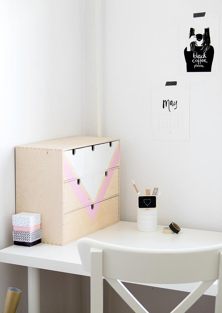 Do it yourself met het IKEA Moppe kastje   THESTYLEBOX