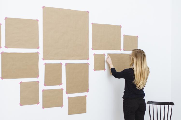 handleiding - muur collage maken lijsten