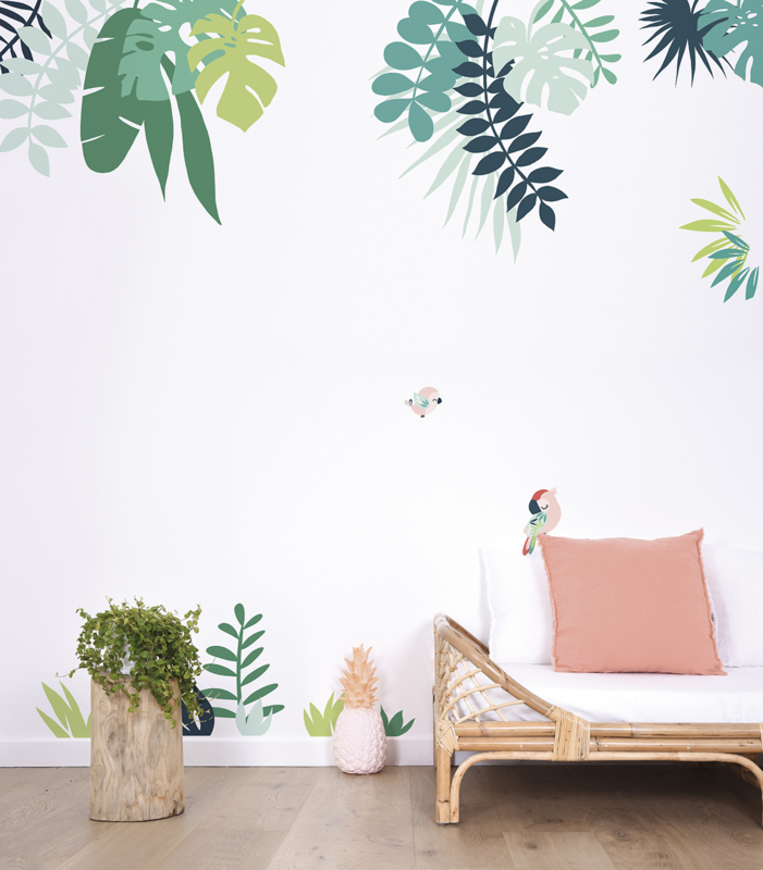 muurdecoraties babykamer muurstickers