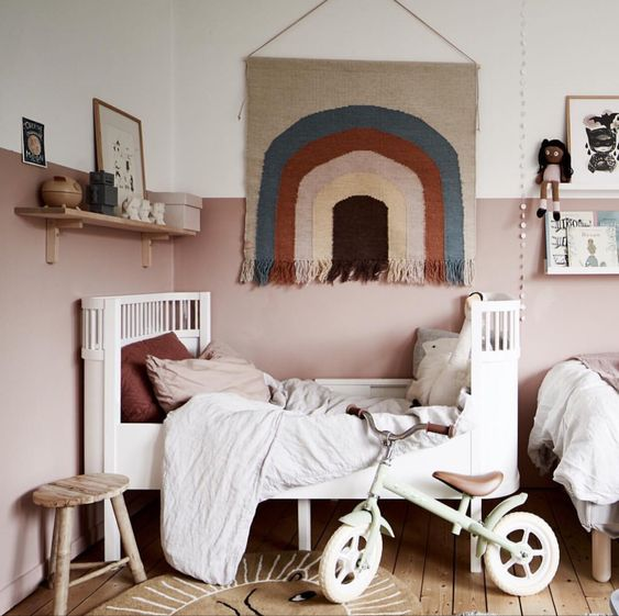 muurdecoraties babykamer wandkleed