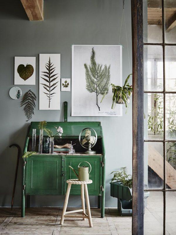 muurkleur groen