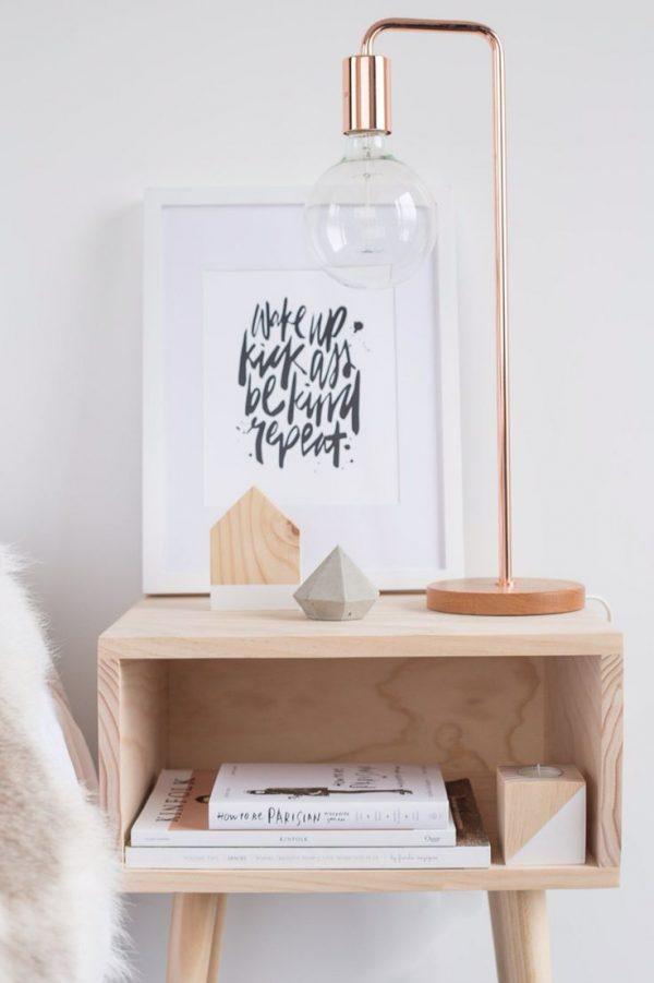 nachtkastje hout