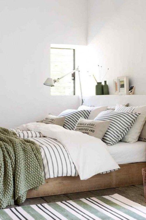 olijfgroen slaapkamer