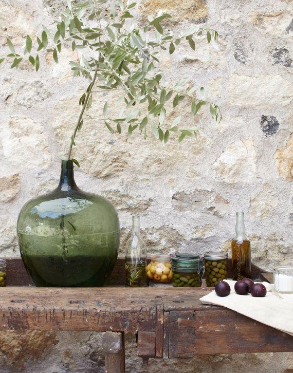 olijfgroen tuin