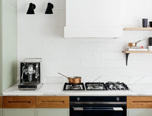 olijfgroene keuken