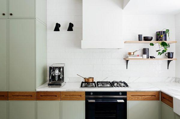 Olijfgroen In Huis : Olijfgroene keuken thestylebox