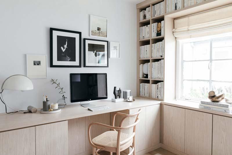op maat gemaakt bureau thuiswerkplek