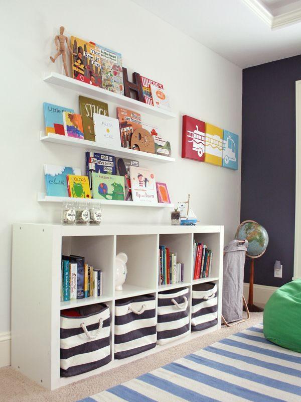 4x opbergen in kinderkamer met ikea - thestylebox, Deco ideeën