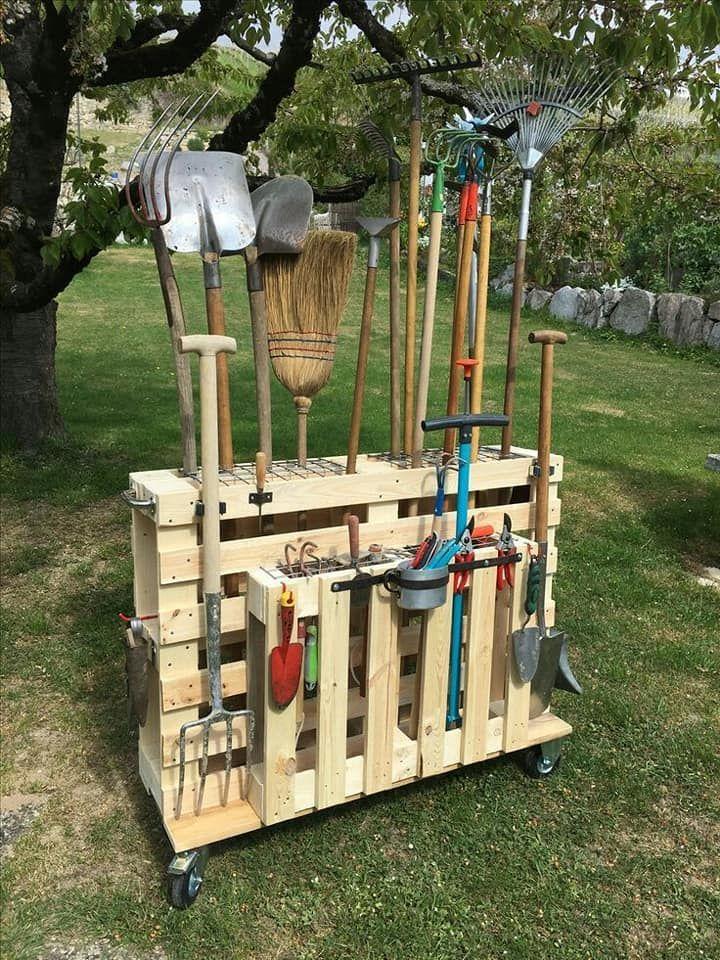 opbergruimte tuin gereedschap
