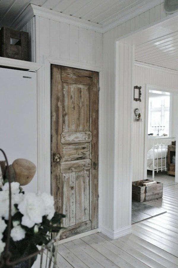 Oude deuren in het interieur thestylebox - Interieur oud huis ...