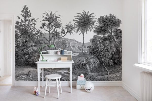 palmbomen huis