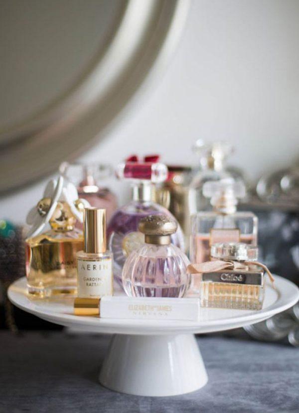 parfumflesjes opbergen