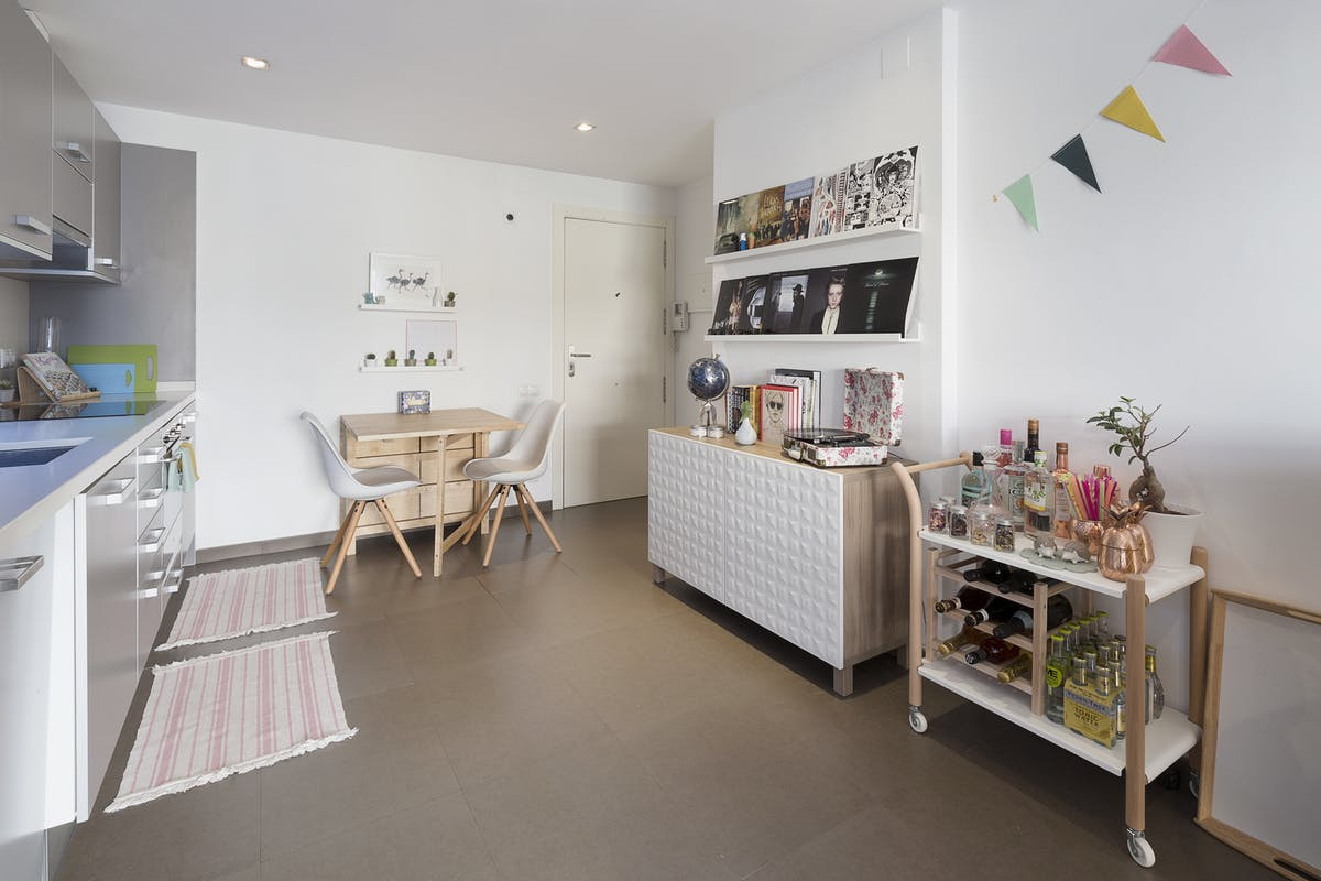 Pastel Interieur Barcelona : Een pastel interieur in barcelona thestylebox