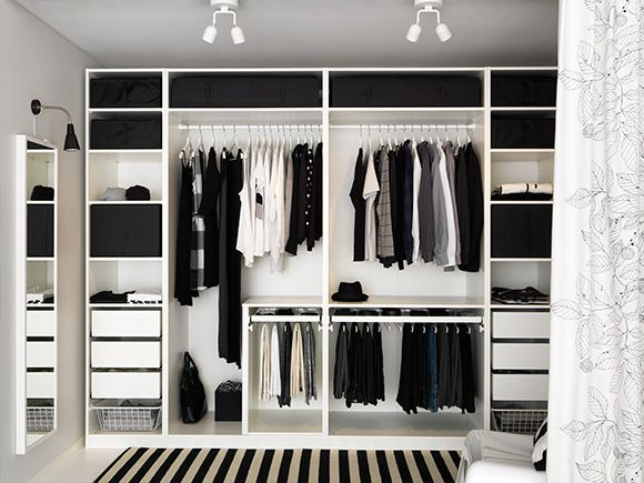 inloopkast ikea op maat inspiratie en tips thestylebox. Black Bedroom Furniture Sets. Home Design Ideas
