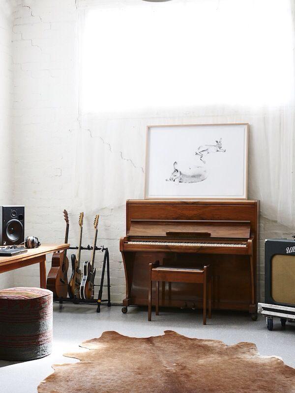 piano interieur