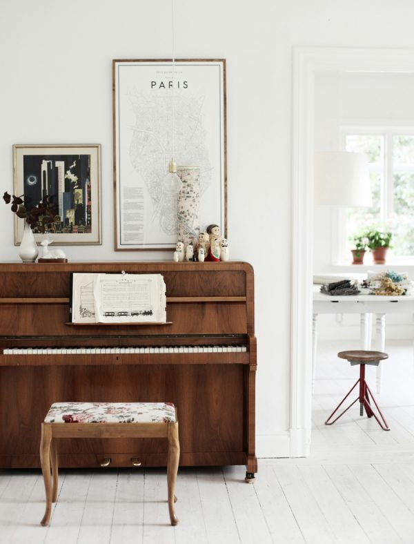 Hoe style je een piano thestylebox for Classic house piano
