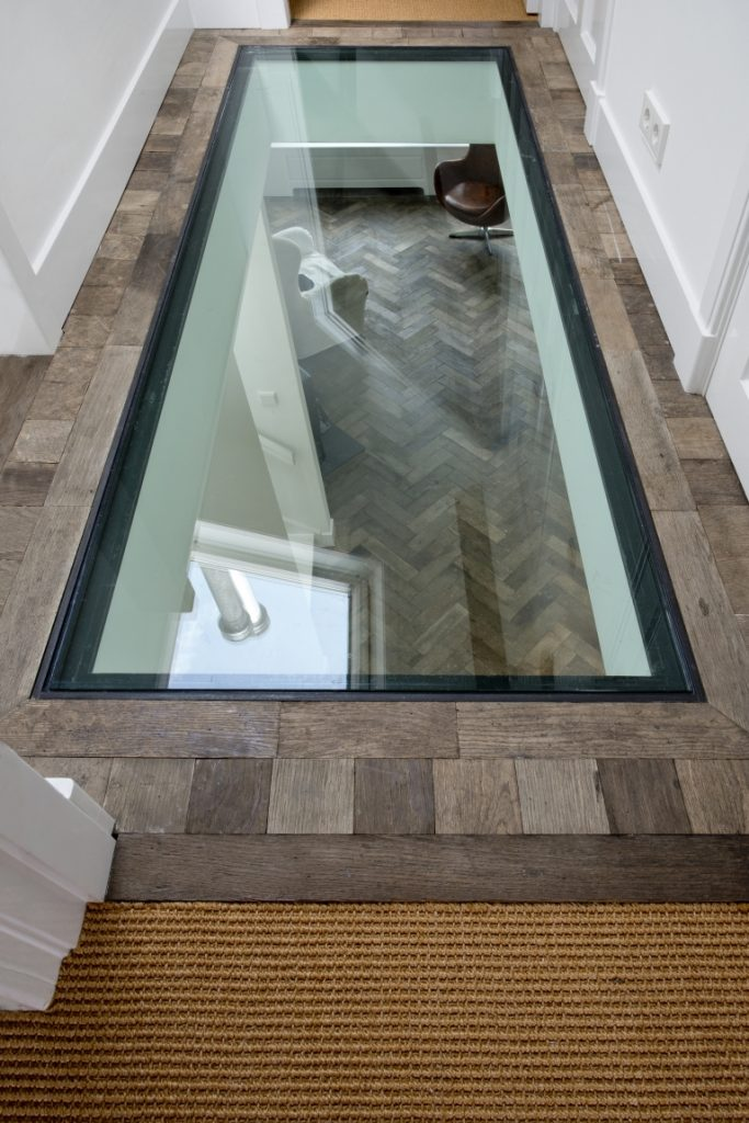 Plafond ideeën beloopbaar glas