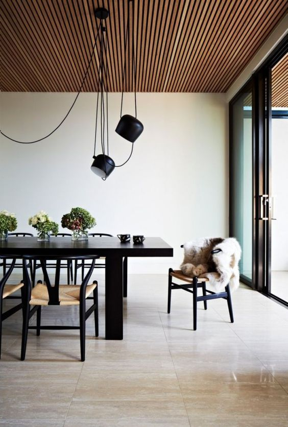 Plafond ideeën houten plafondbekleding houten latten