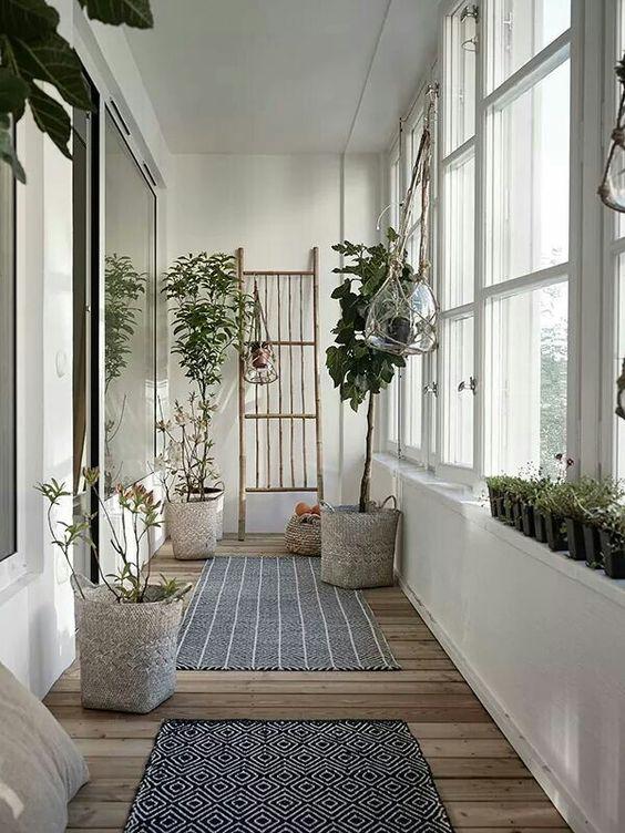 Botanisch interieur: Planten in manden - THESTYLEBOX