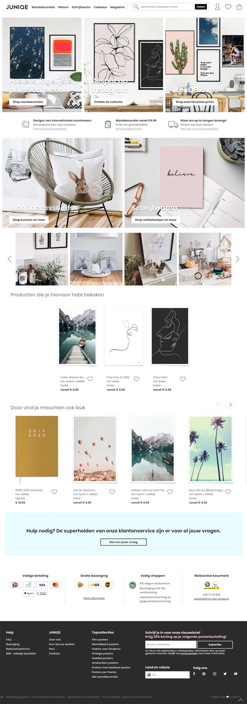 Posters kopen Junique