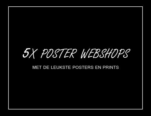 Posters kopen webshops