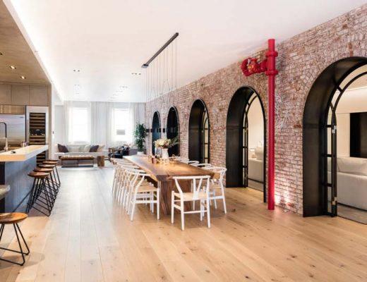 raad studio voegt twee appartementen bij elkaar tot een loft appartement