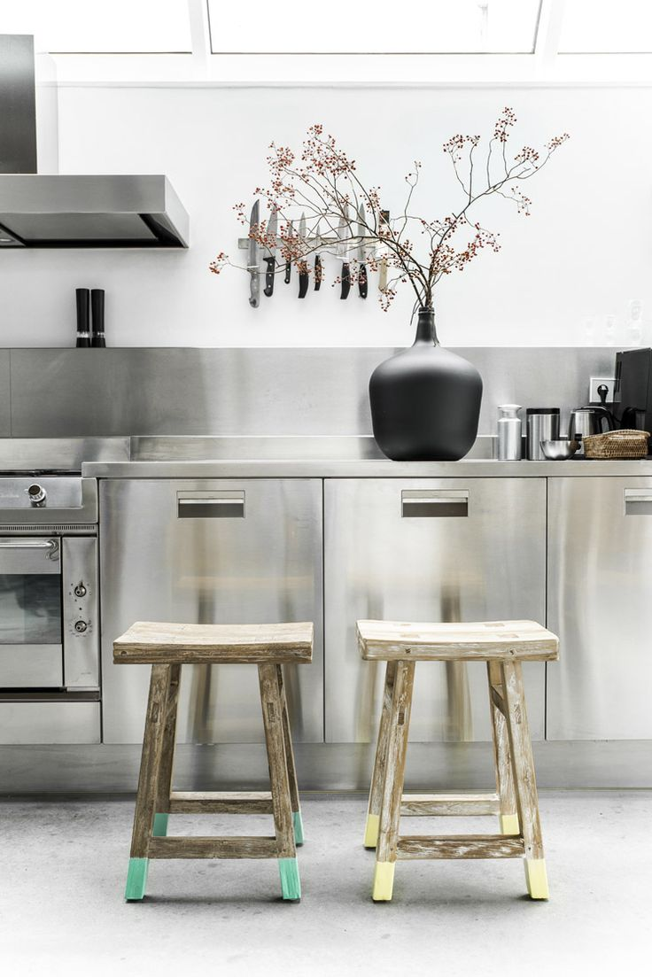 Roestvrij stalen keuken - THESTYLEBOX