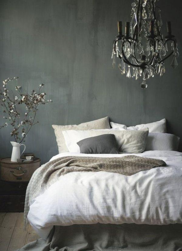 romantisch landelijk slaapkamer