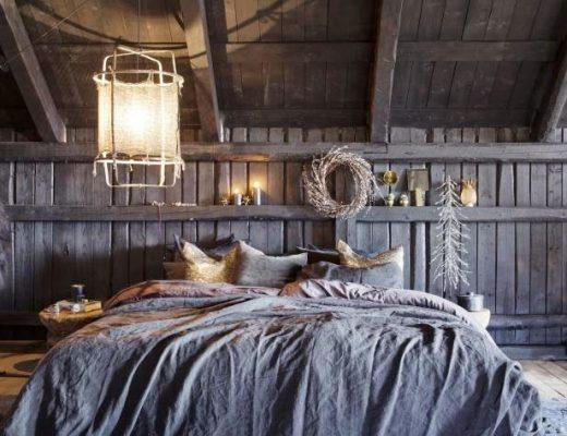 romantisch stoer slaapkamer