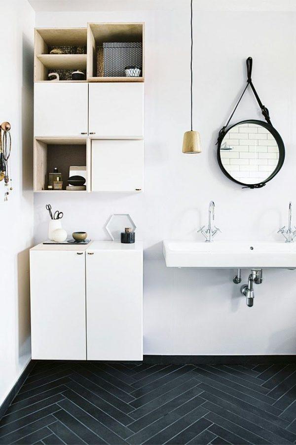 Ronde spiegel badkamer - THESTYLEBOX