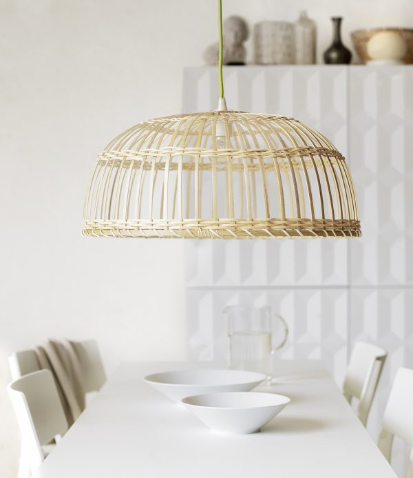 rotan lamp interieur