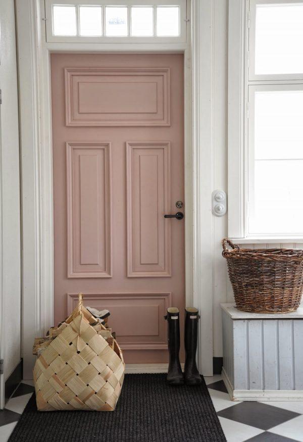 roze voordeur trend