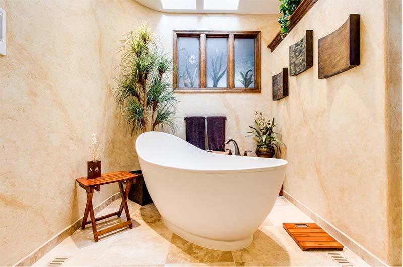 rustieke badkamer inrichten
