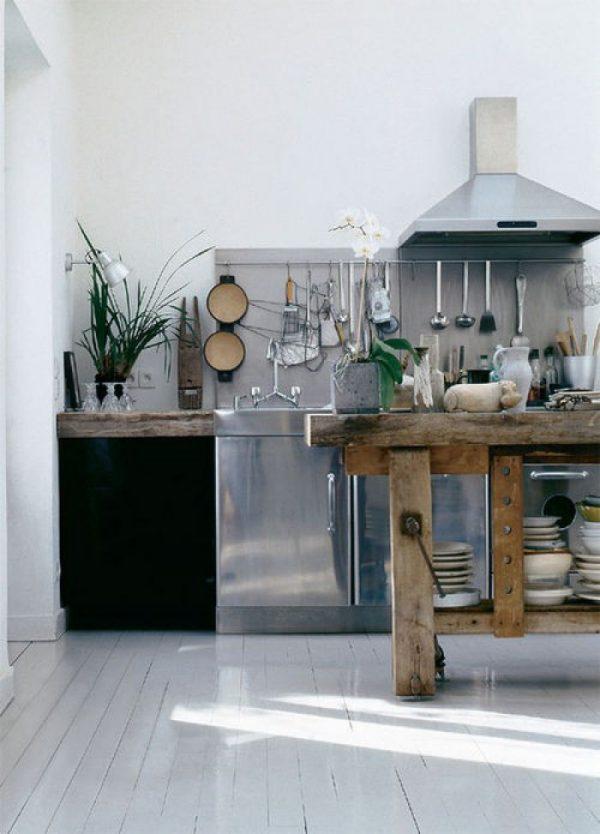 rvs fornuis keuken