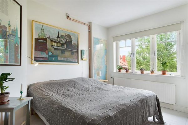 scandinavisch wonen slaapkamer