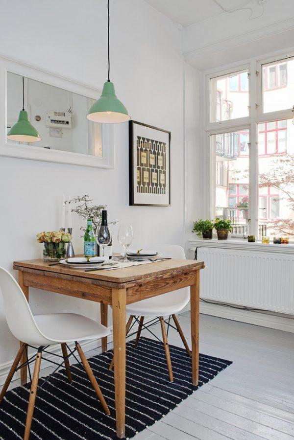 scandinavische keuken eames chair
