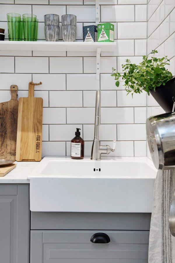 scandinavische keuken kraan
