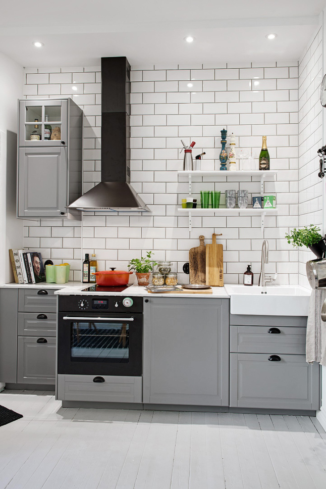 Scandinavische keuken   thestylebox