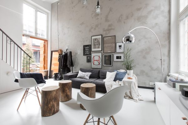 Scandinavische loft - THESTYLEBOX