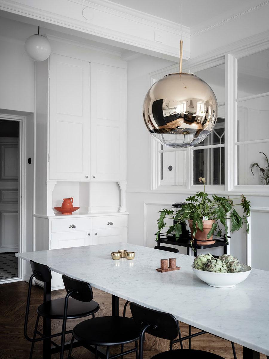 Mooie Scandinavische woonkeuken met heel veel karakter!