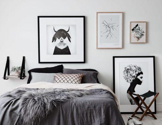 schapenvacht slaapkamer