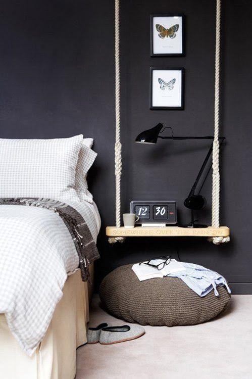 Schommel nachtkastje