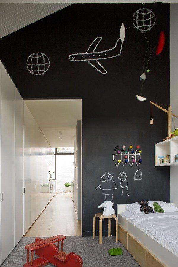 Schoolbord in de kinderkamer - THESTYLEBOX