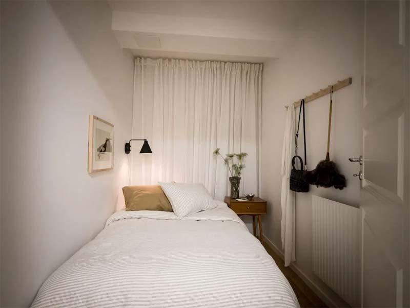 sfeervolle kleine slaapkamer inrichten