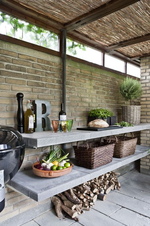 Buitenkeuken thestylebox for Simpele keuken