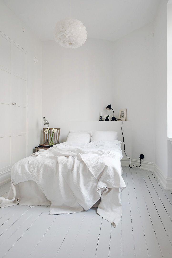 Klein wonen: wit appartement - THESTYLEBOX